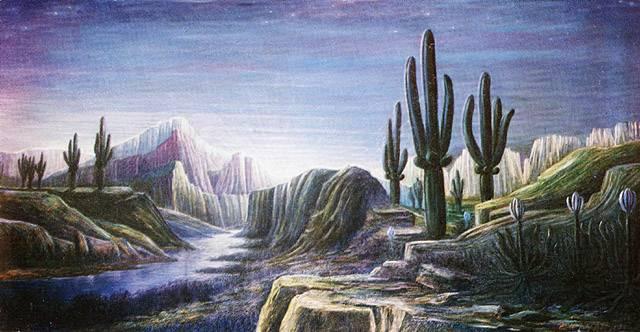 «Планета Голубого Солнца» (3-й вариант), Георгий Курнин