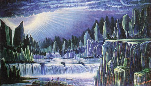 «Планета Голубого Солнца» (5-й вариант), Георгий Курнин