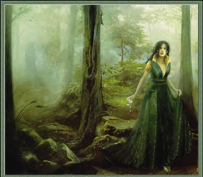 «Девушка в страшном лесу», Линда Бергквист