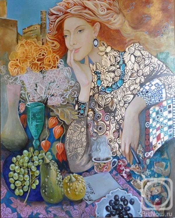 «Чашечка кофе», Фёдор Жуков