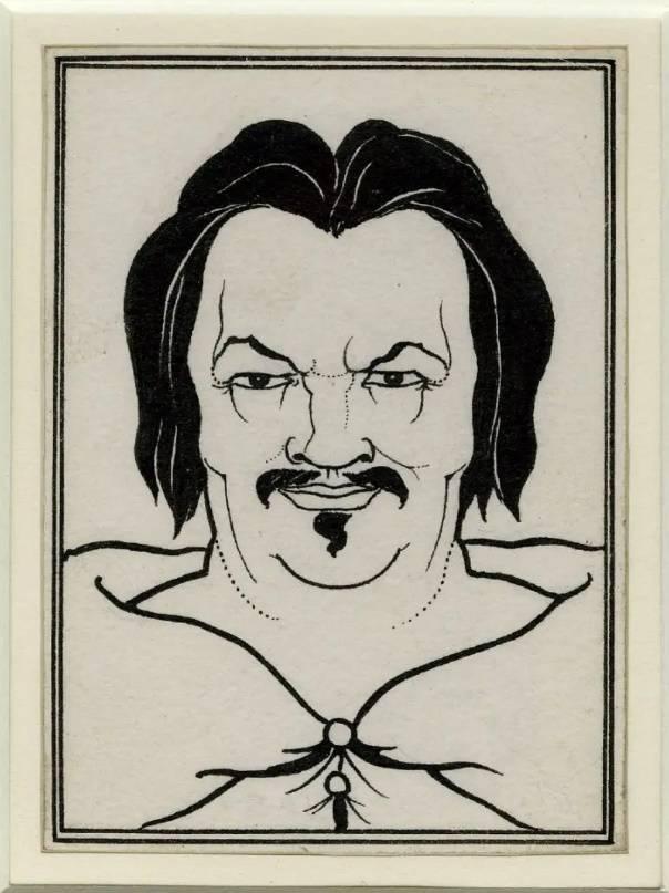 «Портрет Бальзака», Обри Бердслей