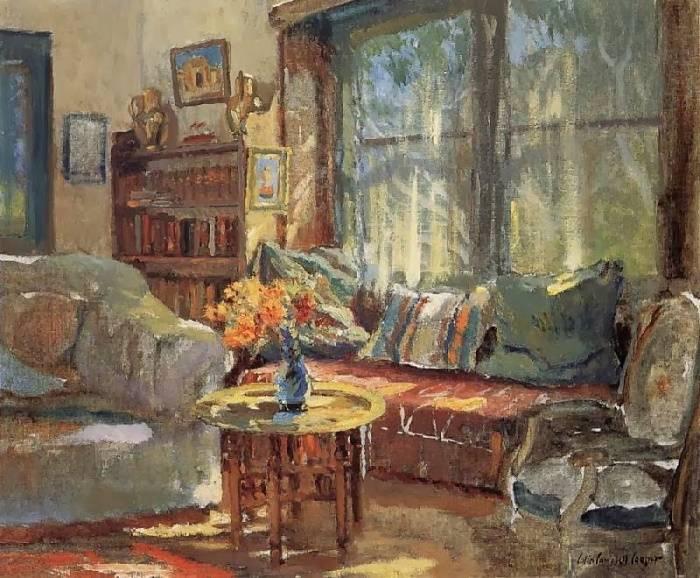 «Диван у окна», Колин Кэмпбелл Купер