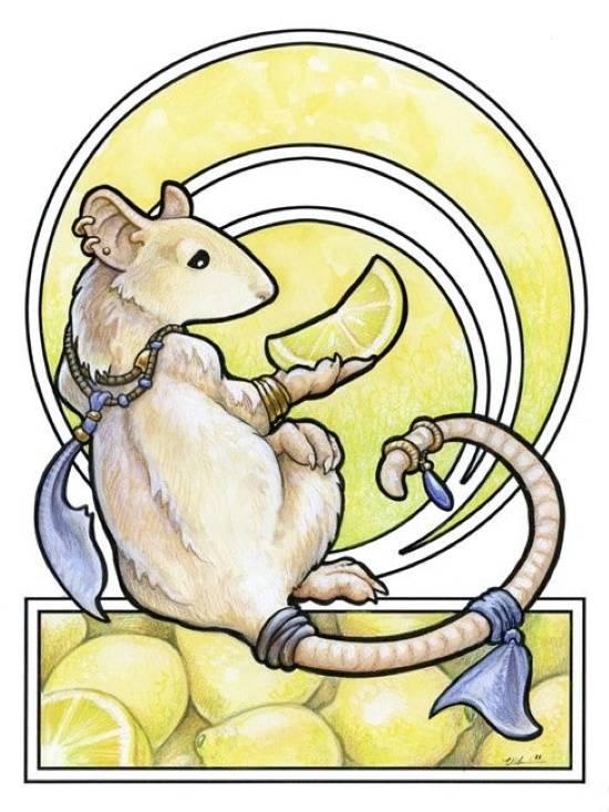 «Мышка», Урсула Вернон