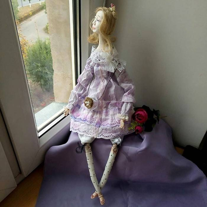 Авторская кукла «Принцесса», Ирина Ядрешникова