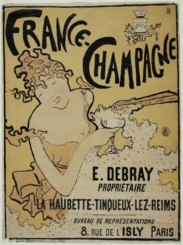 Реклама бренда «Франсе-Шампань», Пьер Боннар