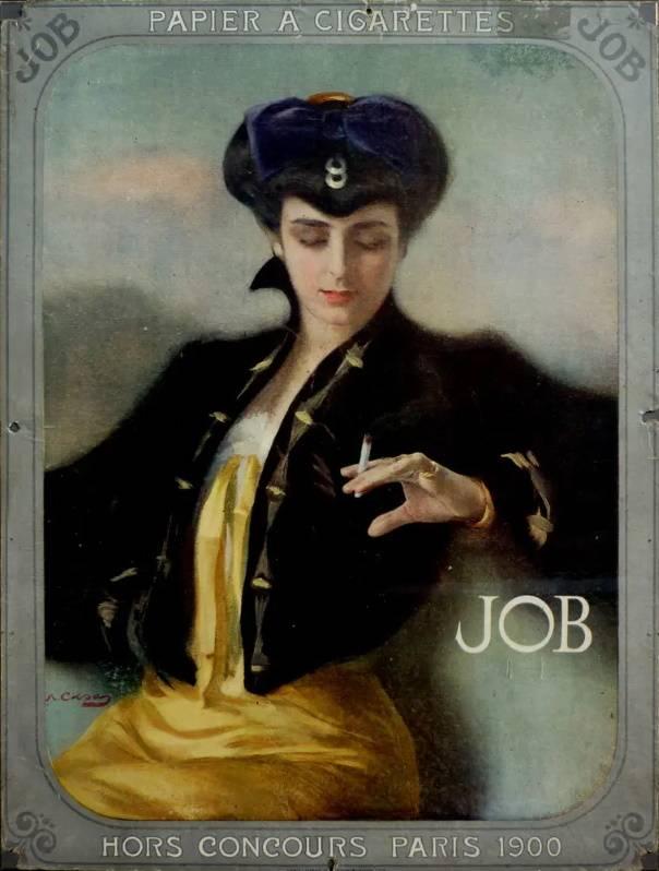 Реклама сигарет «Job», Рамон Касас Карбо