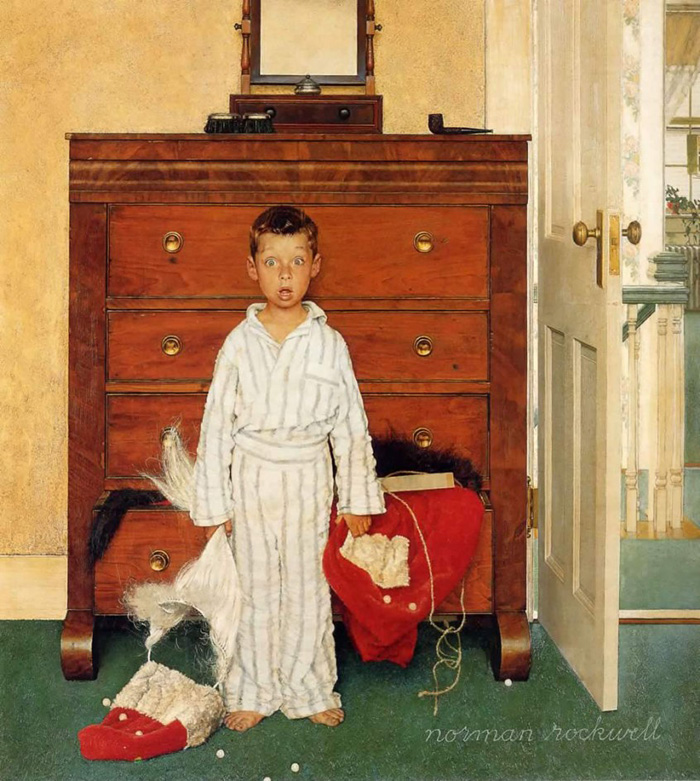 Norman-Rockwell-The-Discovery-1956