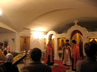 престольный праздник Служба Святым Новомученикам и Исповедникам Белорусским