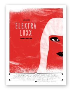 2010 Elektra Luxx SXSW Poster