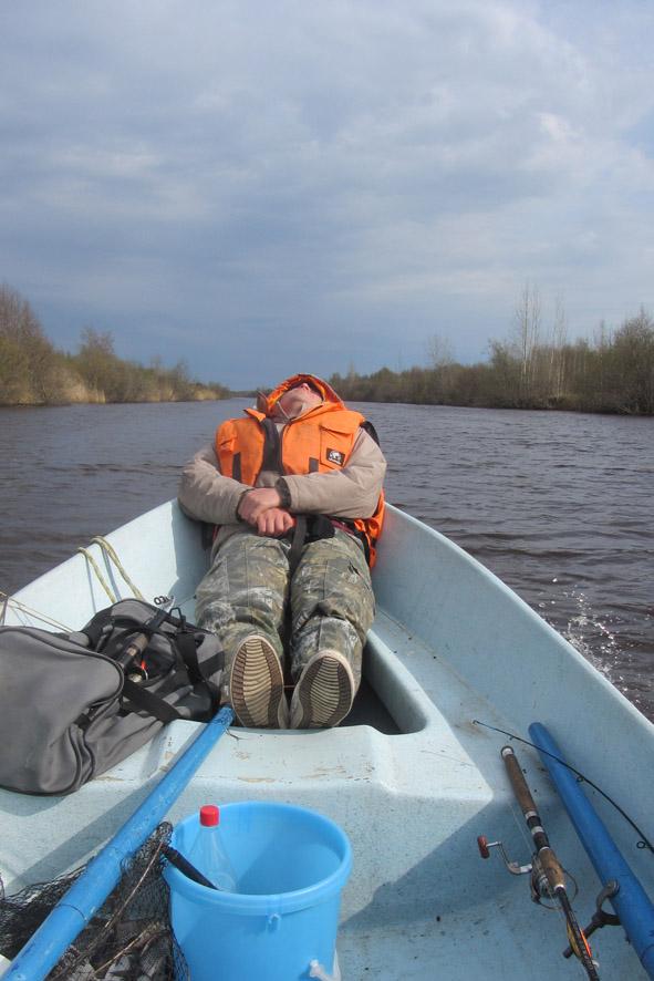 как ловить с лодки на ладоге