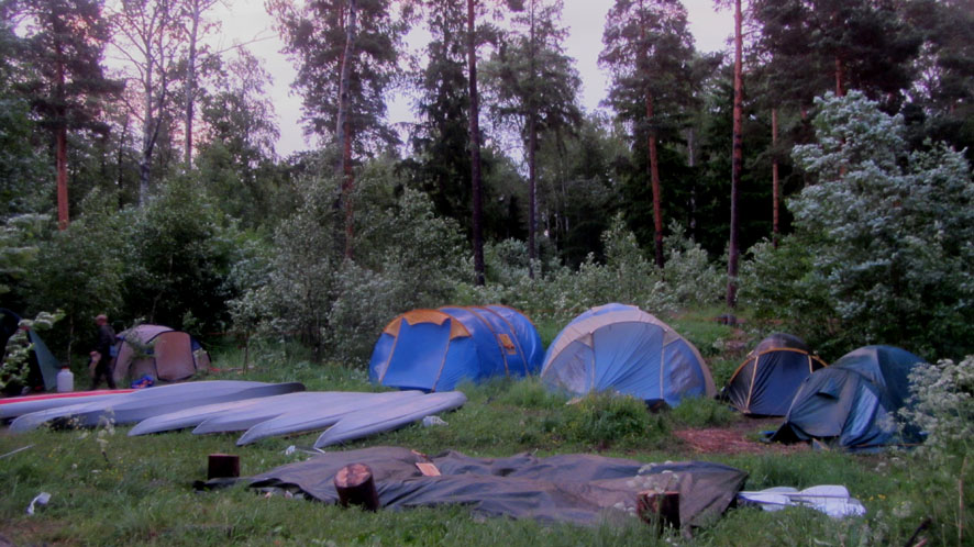 30 ночь в лагере А6нет