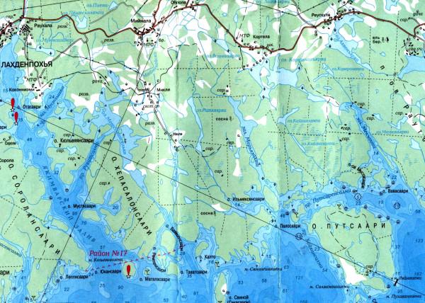 Лахденпохья-Кортела-Путсаари 1 км А5