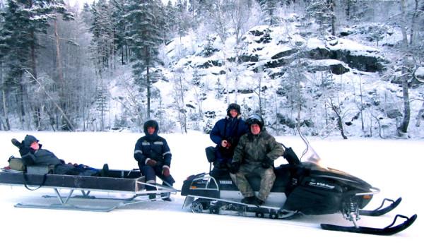 17 снегоход экспедиция А6нет