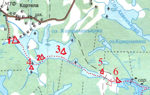 Кортела-Мёклахти А6нет знаки 2