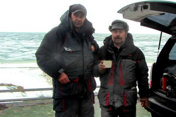 рыбаки и чай А6нет