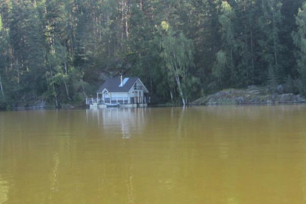 10 плавучий дом с баней