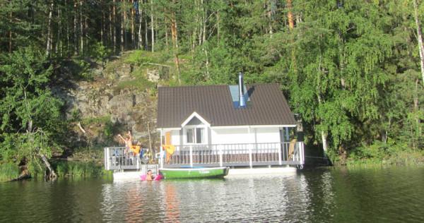 3 плавучий дом