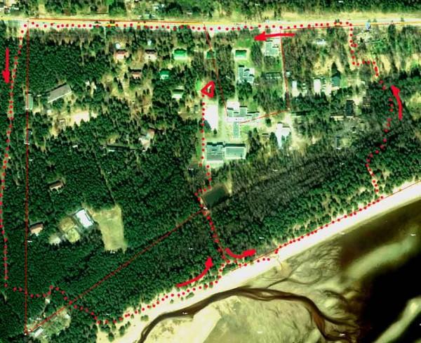 Смолячково База А6нет маршрут левый