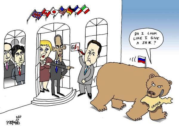 Putin G8