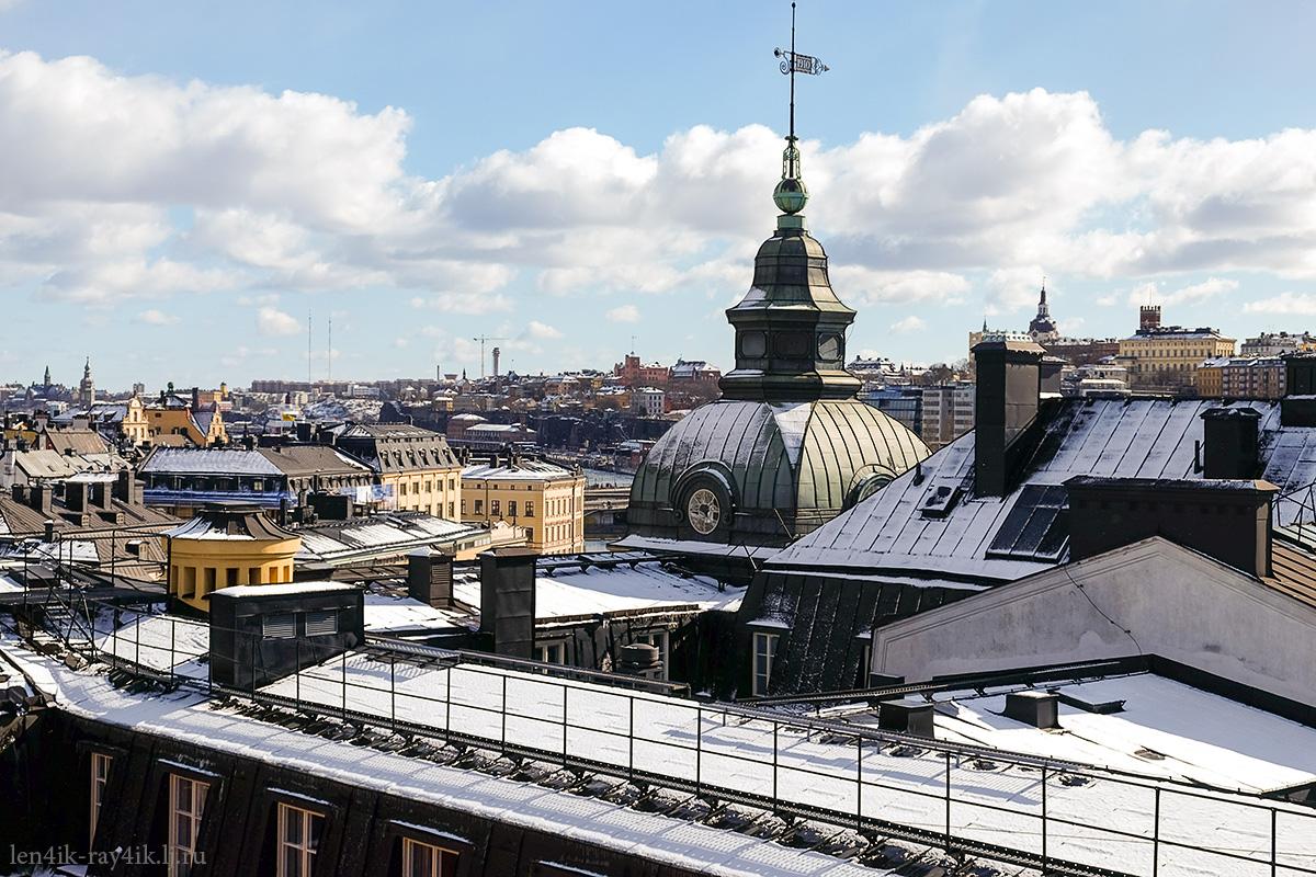 Stockholm roof tour