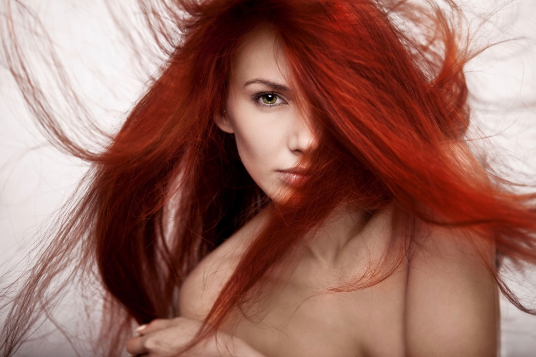Как я покрасилась в красный!