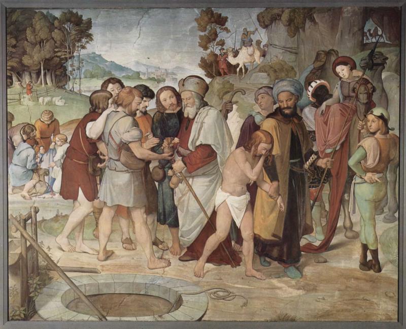 Иоганн Фридрих Овербек. Братья продают Иосифа в рабство