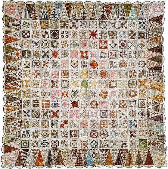 the original dear jane quilt as seen at Dear Jane site