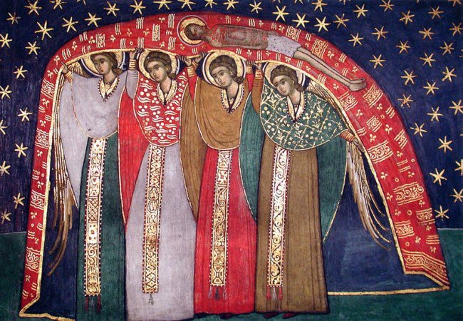 Румыния_16 век_Монастырь Сучевица