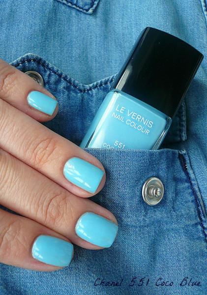 Chanel 551 Coco Blue