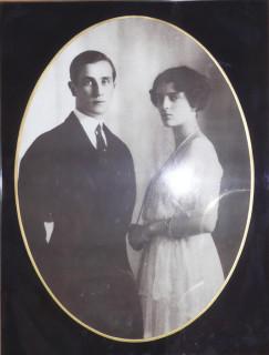 Князь Феликс Юсупов с супругой Ириной
