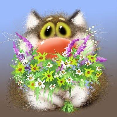 Поздравляю с праздником весны!