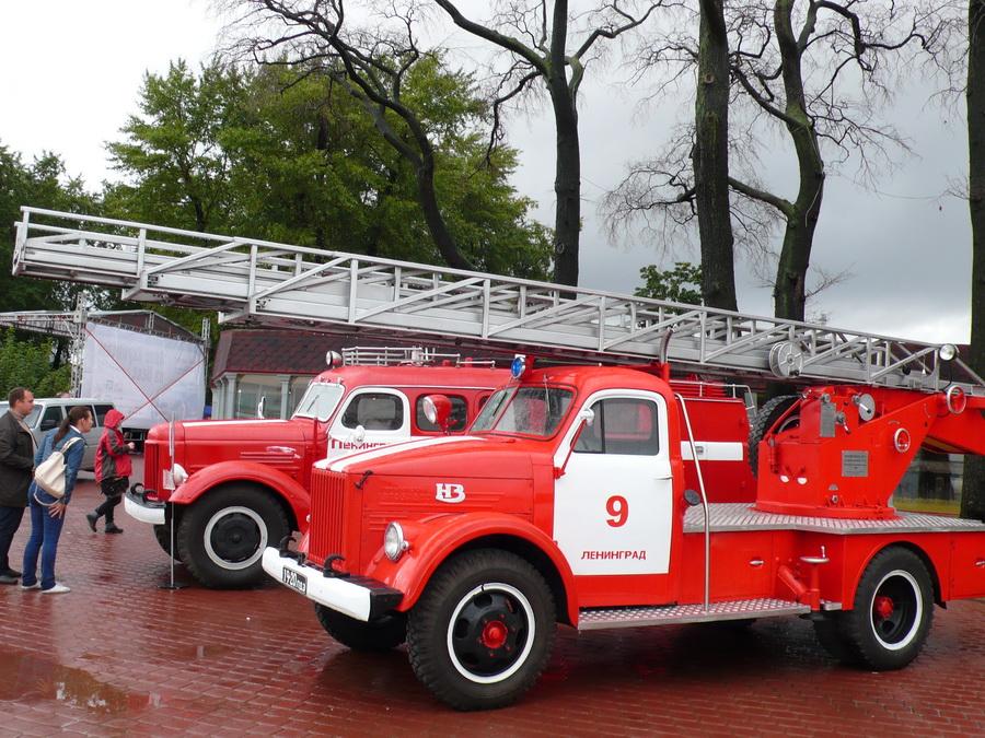 Фото пожарных машин россии