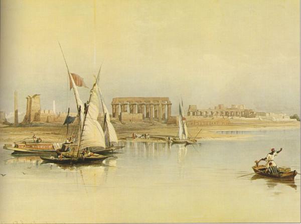 Вид на Луксор