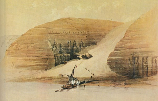 Абу Симбел. Храм Рамсеса