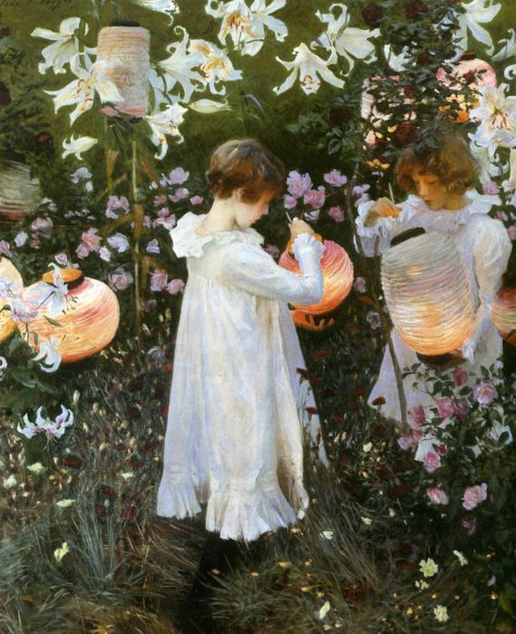 Сarnation Lily lily rose - John Sargent