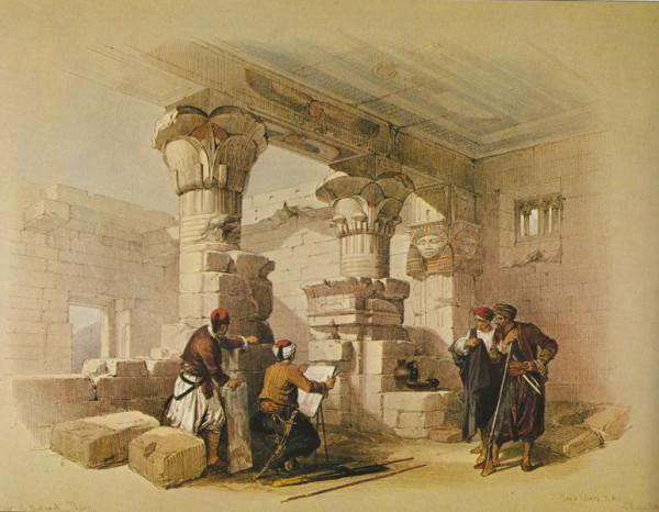 Храм в Дейр эль Медине
