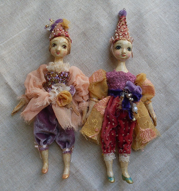 Кукла вся из пластики своими руками
