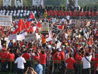 Двухсоттысячная демонстрация
