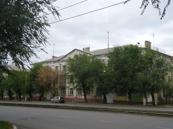 Магнитогорск, первый крупнопанельный дом в СССР