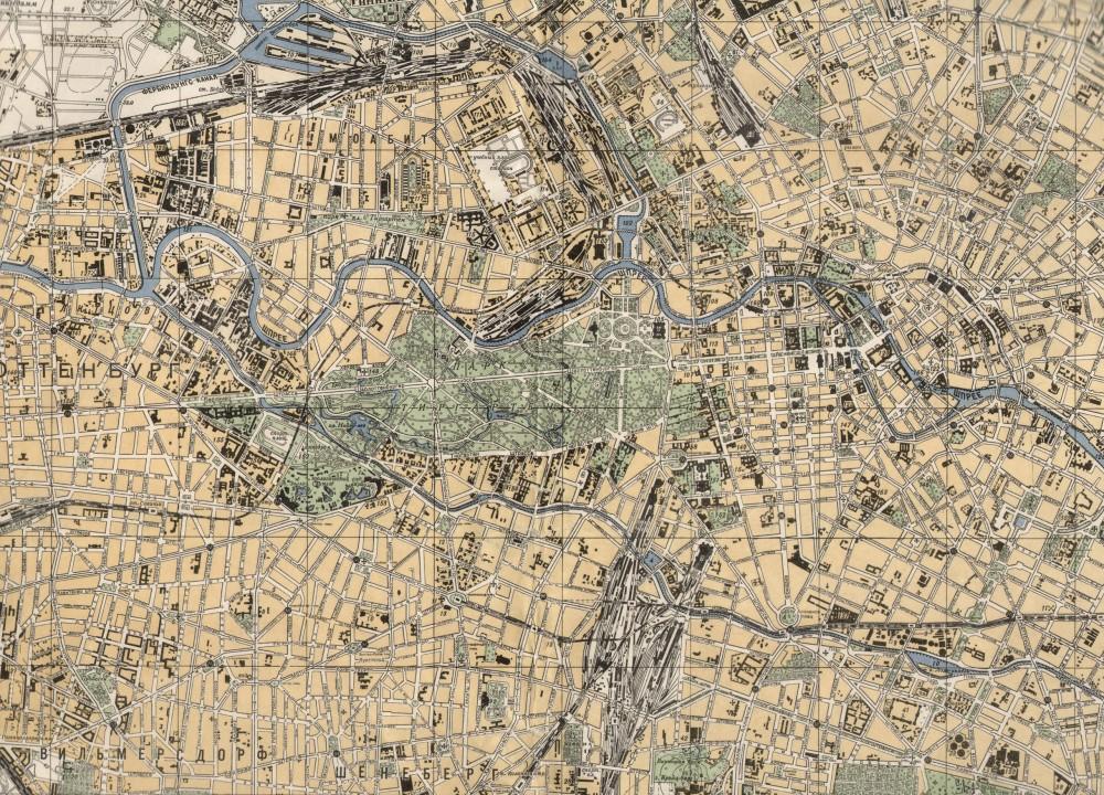 Карта Победы. Фрагмент