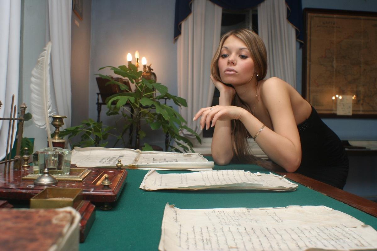 В доме-музее салтыкова-щедрина в вятке