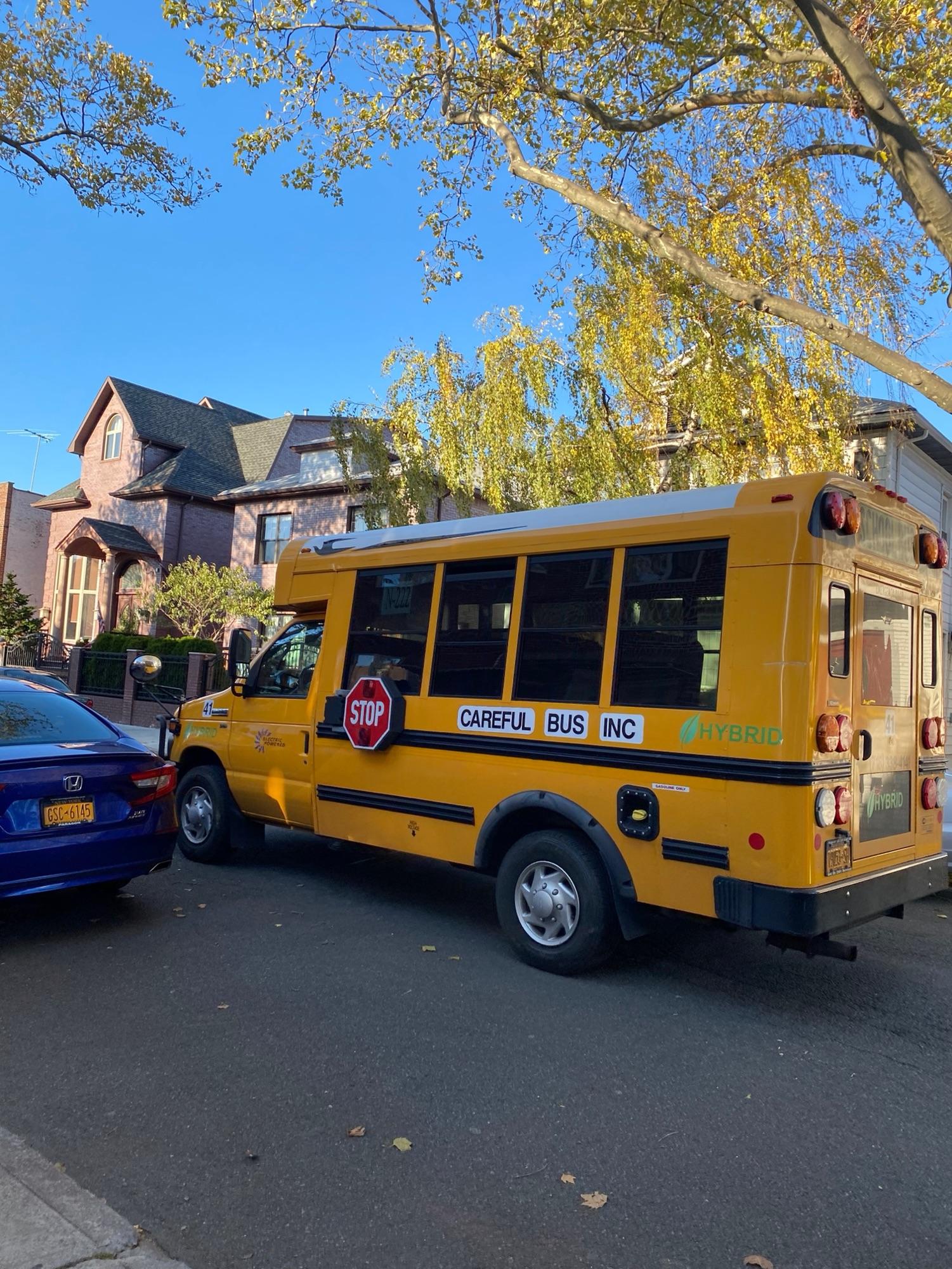 Школьный автобус.