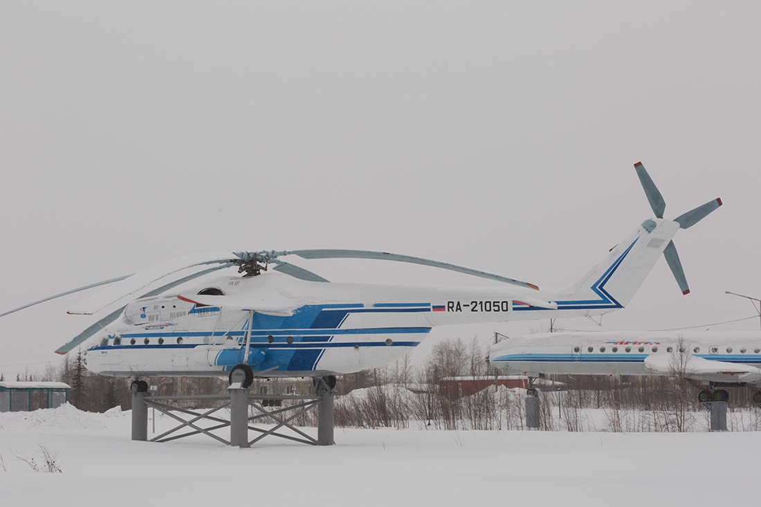 Салехард, музей полярной авиации