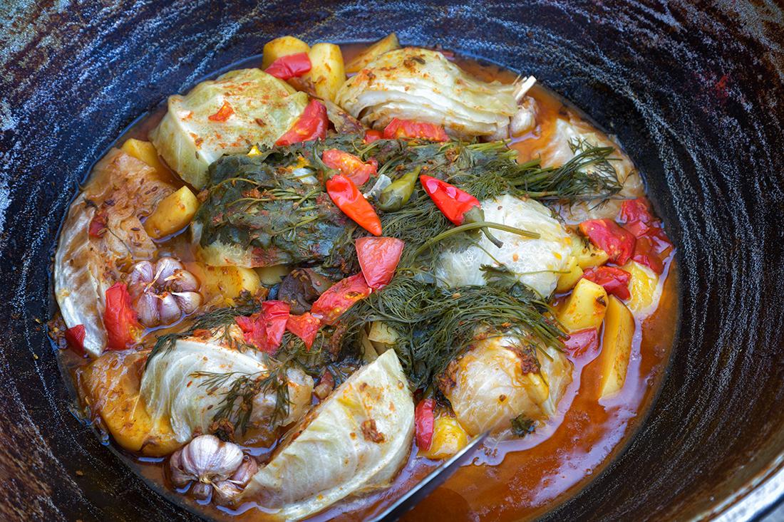 Узбекская кухня. Дымлама