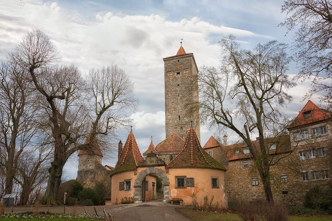 Ротенбург-на-Таубере. Замковые ворота