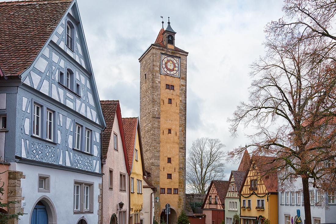 Ротенбург-на-Таубере. Крепостная башня