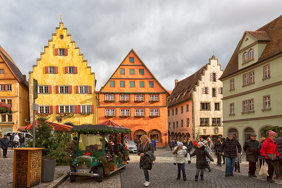 Ротенбург-на-Таубере. Рыночная площадь