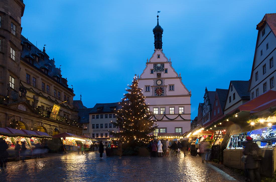 Ротенбург-на-Таубере. Рождественская ярмарка