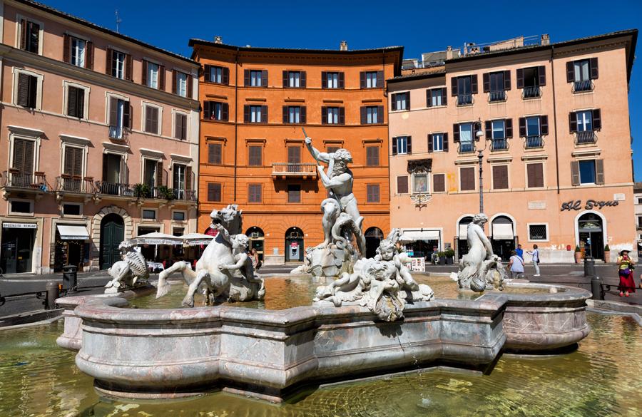 Фонтаны на площади Навона, Рим