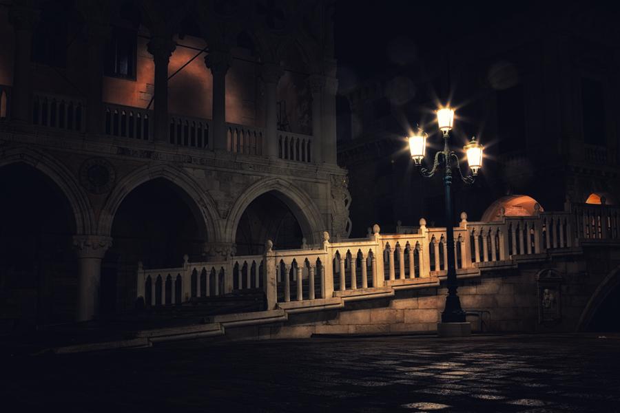 Венеция. Дворец Дожей и мостик через канал